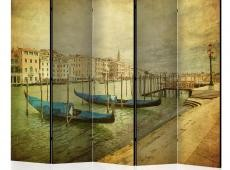 Paraván - Grand Canal, Venice (Vintage) II [Room Dividers]